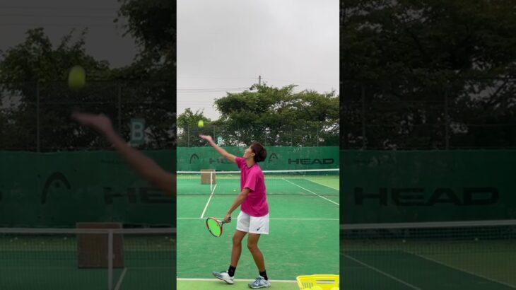 打つ相手がいなくてもできるテニスの練習 #テニス #tennis #asmr #sports