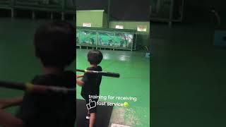 バッティングセンター!レシーブ練習#tennis  #テニスキッズ #rafaelnadal  #テニス  #dominicteam  #4歳 #9歳  #Novak Đoković,#錦織圭
