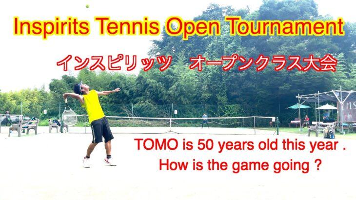 【 テニスシングルス/tennis singles 】(4K映像)  inspirits tennis open singles tournament  インスピオープンシングルス大会