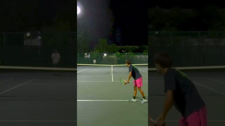 テニスフラットサーブ #tennis #テニス #sports #youtube #fyp #trending #video