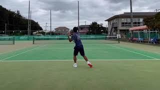 【テニスtennis】【ラリーrally】【ストロークstroke】動作80%