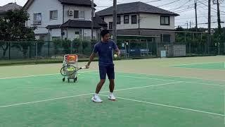 【テニスtennis】【ラリーrally】【ボレーvolley】