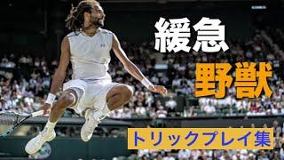 【テニス】トリック野獣炸裂!何回やっても読めない緩急モンスターのプレイ集!【ブラウン】