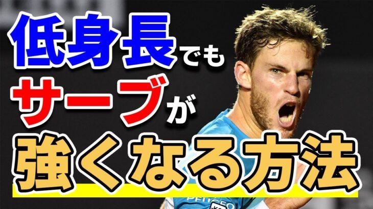 【テニスは身長じゃない!】力の流れを上手く使った日本人向けのサーブを教えます。