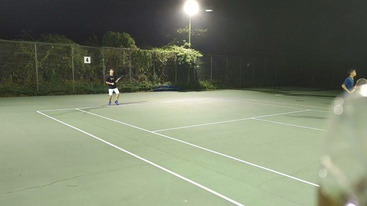 【テニス】久しぶりのテニス
