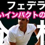 【テニス】ロジャーフェデラーのサーブ分析|『正しいインパクトの位置』|スライスサーブ