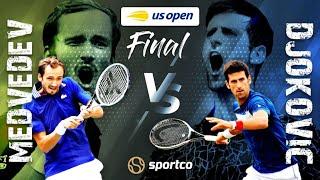 🔴【公式ライブ】ノバク・ジョコビッチ vs ダニール・メドベージェフ「全米オープンテニス決勝」生中継