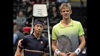 錦織圭 vs ケビン・アンダーソン テニス