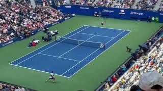 【錦織圭】全米オープン vsジョコビッチ 第1セット錦織先取!7-6(4)  Kei Nishikori vs Djokovic #USOpen
