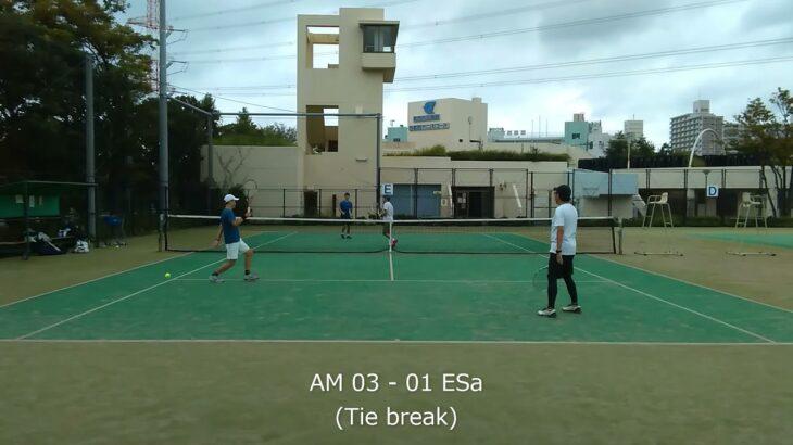 2021/09/25 AM vs ESa 03【テニスダブルスTie break】
