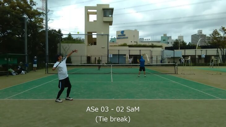 2021/09/25 ASe vs SaM 08【テニスダブルスTie break】