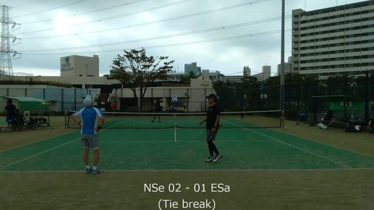 2021/10/09 NSe vs ESa 02【テニスダブルスTie break】