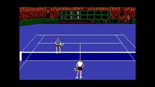 アドバンテージテニス  Advantage Tennis(FM TOWNS.JAPAN.1992)