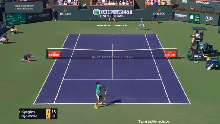 Djokovic (ジョコビッチ) VS Kyrgios (キリオス)