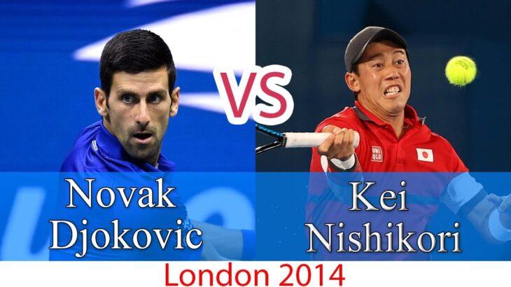 Djokovic (ジョコビッチ) VS Nishikori (錦織圭)