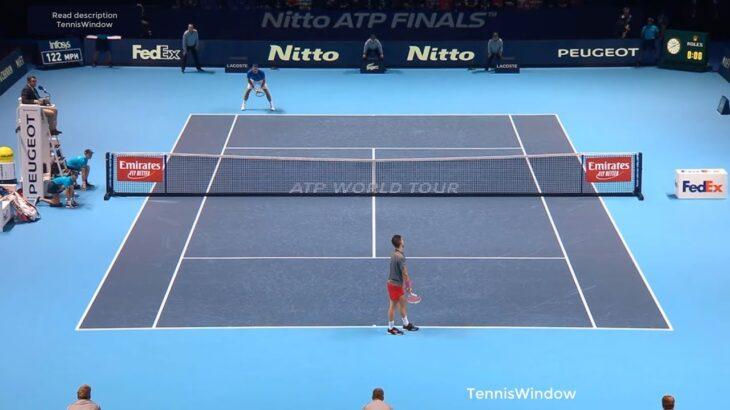 Federer (フェデラー) VS Thiem (ティエム)