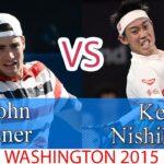 Isner (イスナー)  VS Nishikori (錦織圭)