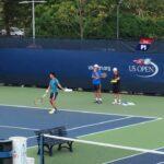 Kei Nishikori practice【US OPEN 2016】 錦織圭のサーブ 全米オープン2016