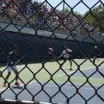 Kei Nishikori practice【US OPEN 2016】 錦織圭 フォアハンドのリターン 全米オープン2016