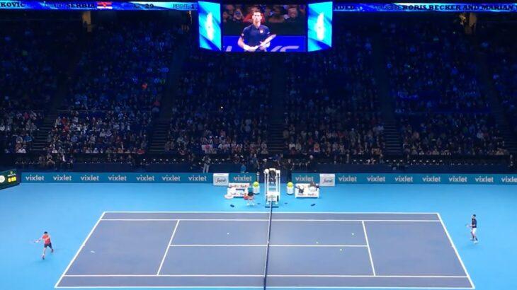 Kei Nishikori vs Novak Djokovic【ATP Finals in London 2016】 錦織vsジョコビッチ ATPファイナルズ2016