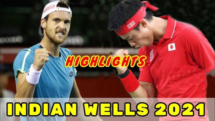 Kei Nishikori vs. Joao Sousa Highlights | Indian Wells 2021 錦織圭