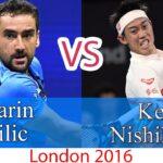 Marin Cilic (チリッチ) VS Nishikori (錦織圭)