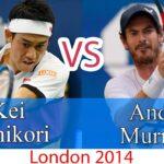 Nishikori (錦織圭) VS Muray (マリー)
