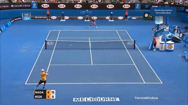 Nishikori (錦織) VS Nadal (ナダル)