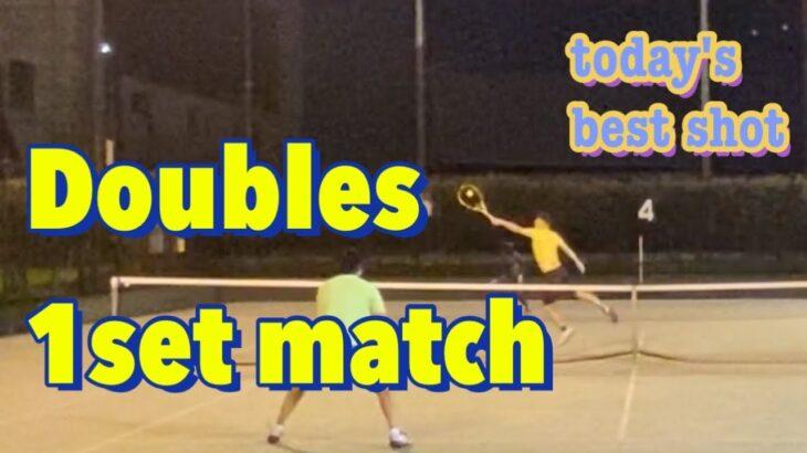 【週末テニス】SABR祭り?フェデラーやキリオスのように奇襲攻撃なるか?