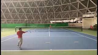 【Tennis-試合風景】テニス-長男(ゆうのすけ)の試合! 2021.9.3