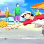 テニスの王子様 – 越前亮馬が遊んでいるうちに砂にぶつかった | The Prince of Tennis