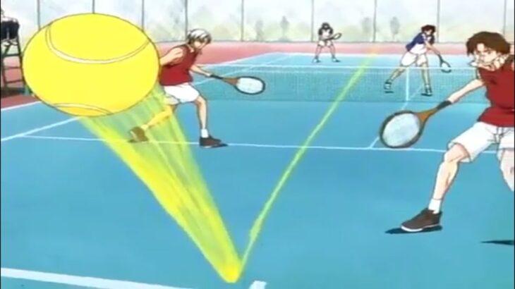 テニスの王子様 – バドミントンラケットとテニスラケットの試合 | The Prince of Tennis