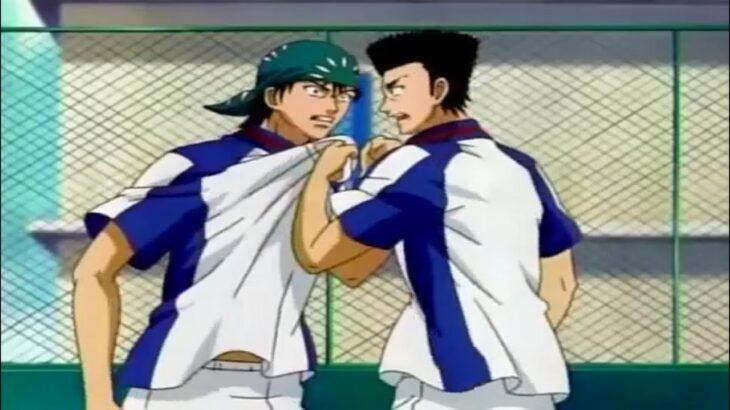 テニスの王子様 – 海堂薫と乾貞治の対立は予想外の結果につながる | The Prince of Tennis