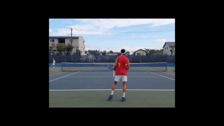 【テニス】成長したボレー🎾【volley】【Shorts】#tennis #テニス #チャンネル登録よろしくお願いします